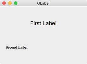 02) QLabel - PyQt5 Tutorial : 파이썬으로 만드는 나만의 GUI